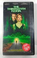 The Thirteenth Floor Matrix SciFi Craig Bierko Gretchen Mol Vincent Donofrio VHS