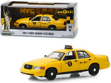 New York TAXI 2011 Ford Crown Victoria Diecast Car 1:43 Greenlight 5 inch NYC