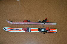 Kinderski Fischer RC4 80 cm Ski Salomon Bindung Carving