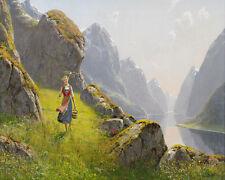 Fjord Landscape  Hans  Dahl   24'  CANVAS