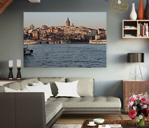 LOVELY Istanbul -TURKEY-high quality Painting Canvas choose your size