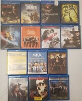 Blu Ray Lot [ 14 Movies ( 8 New, 6 Great Used ) ] A Movie For Every Mood