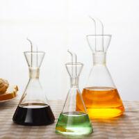 500ml Oliva Olio Vetro Dispenser Aceto Leak-Pourer Bottiglia Cottura Cucina