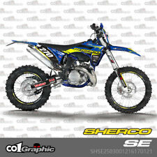 GRAPHICS DECALS STICKERS FULL KIT FOR SHERCO SE SEF 2012-2016