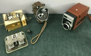 Job Lot of Movie Camera An Extras Revere Eight Model 99 Kodak 8 Movie Camera