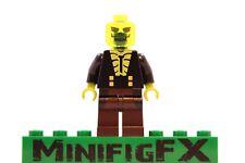 Lego BLIGHT Custom Minifig DC Comics Batman Villain Derek Powers Radioactive Man
