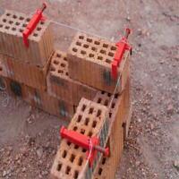 1Pair Brick Liner Runner Leveling Messwerkzeuge für Maurer Tools T1O8