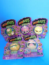 Mad Balls Lot of 5 1st Edition Figures Skull Face, Dust Brain and More New!