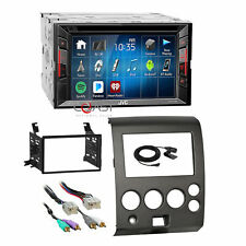 JVC DVD Spotify Bluetooth Stereo Dash Kit Amp Harness for Nissan Armada Titan