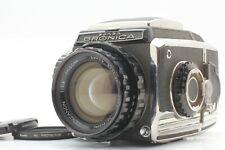 【Exc++++】 Zenza Bronica S2 MF Film Camera + Zenzanon 100mm f/2.8 From JAPAN 7707