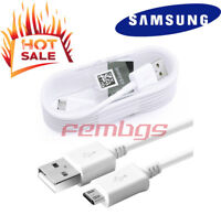 Original Samsung Galaxy S7 S6 edge Note 5 Note4 Fast Charger Micro USB Cable 5FT