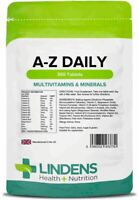 Multivitamin & Minerals A-Z Daily 360 Pack Tablets One-a-Day Energy & Metabolism