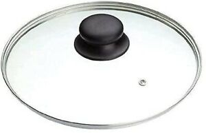 Replacement Tempered Glass Lid Vented  Spare Saucepan Casserole Frying Pan 32cm