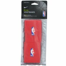 NIKE Elite Wristbands NBA Rockets Dri Fit Wristbands 1 Pair, Red