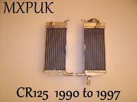 CR125 1991 RADIATORS PERFORMANCE RADS  1991 CR 125 MXPUK  (035)
