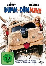 JIM CARREY - DUMM UND DUEMMEHR  DVD NEU BOBBY FARRELLY,PETER FARRELLY