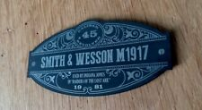 CUSTOM SMITH & WESSON M1917 DISPLAY PLACARD PROP INDIANA JONES RAIDERS LOST ARK