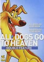 All Dogs Go to Heaven 1 / All Dogs Go to Heaven 2 - DVD - VERY GOOD