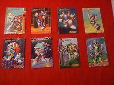 Megaman X2 Mega Man Super Nintendo SNES 8 Trading Cards Crab Ostrich Moth Gator