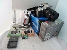 Canon EOS Rebel XT Digital Camera 18-55MM  Battery 8 GB  Memory Charger BOX