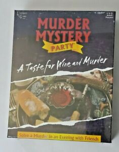 Murder Mystery Party - Brand New Unopened Board Game