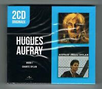 ♫ - HUGUES AUFRAY - HUGH ! + CHANTE DYLAN - 2 CD SET - NEUF NEW NEU - ♫