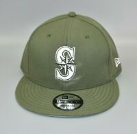 Seattle Mariners New Era 9FIFTY Green Men's Adjustable Snapback Cap Hat
