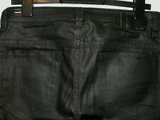 Diesel thavar slim-skinny coated leather style jeans 0667I stretch W30 L30 a5124