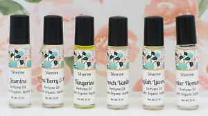 Handmade Perfume Oil 20 Scents - Natural Vegan Friendly Roll On