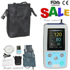Ambulatory Blood Pressure Monitor 24Hours NIBP Holter Free 3 Cuffs with Software