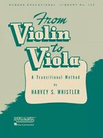 From Violin to Viola A Transitional Method String Method NEW 004472770