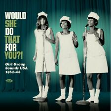 WOULD SHE DO THAT FOR YOU?! vinyl LP girl group soul Ike Turner Dylan Charmaines