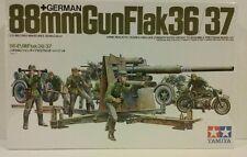 Tamiya 1/35 scale model kit 35017, German 88mm. Flak 35/37.