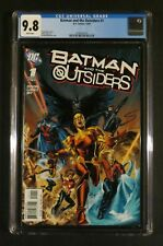 BATMAN AND THE OUTSIDERS #1 CGC 9.8 NM/MT Detective Brave & Bold Katana DC 2007