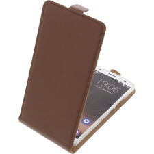 Funda para Oukitel K6000 Plus protectora Teléfono Móvil con tapa Marrón