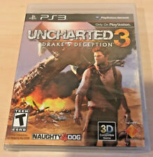 Uncharted 3: Drake's Deception PlayStation 3, 2011 PS3 GAME NEW!!! BLACK LABEL