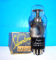 type 6AE6G Silvertone NOS amplifier vintage vacuum tube valve ST shape No 6AE6