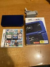 New Nintendo 3DS XL Metallic Blue Console PAL VERSION