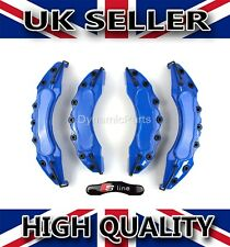 UNIVERSAL BRAKE CALIPER COVERS SET KIT FRONT & REAR BLUE ABS 4PCS - S LINE