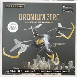 Protocol Dronium Zero, Drone With Live Stream Camera