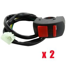 2x Kill Stop Button Switch ON-OFF 43cc 47 49cc Scooter Mower Rocket Pocket Bike