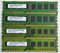 16 GB 4x4GB DDR3 PC3-10600U 1333MHZ  NON ECC UNBUFFERED 240 PIN PC RAM WARRANTY