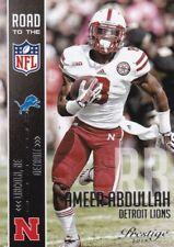 Ameer Abdullah  2015 Prestige Football Sammelkarte,Road to the NFL, #8