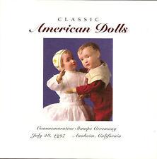 #3151 FD Program 32c American Dolls Stamps