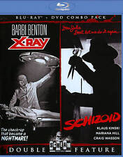 Double Feature X-Ray / Schizoid (Blu-ray/DVD, 2013, 2-Disc Set) >NEW<
