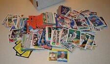 Lot of 300+ Sports Cards, Mostly Baseball from 1980s&90s, some Golf&Racing cards