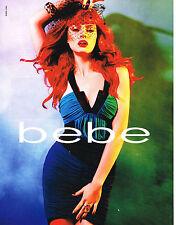 PUBLICITE ADVERTISING  2010   BEBE   haute couture