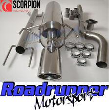 Scorpion Astra CDTi 1.9 Diesel MK5 Sistema De Escape Acero con Corte en Val