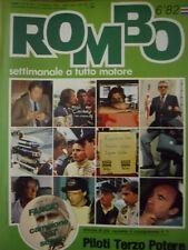 ROMBO 6 1982 Fangio campione del secolo - Elio De Angelis -