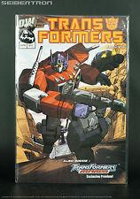 Transformers PREVIEW Optimus Prime Roller cover G1 2002 Dreamwave DW comic book